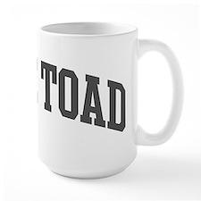 Cane Toad (curve-grey) Mug