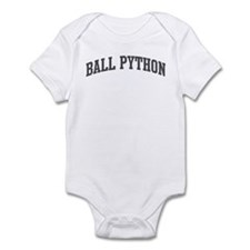 Ball Python (curve-grey) Infant Bodysuit