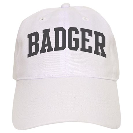 Badger (curve-grey) Cap
