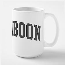 Baboon (curve-grey) Mug