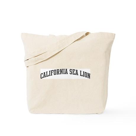 California Sea Lion (curve-gr Tote Bag
