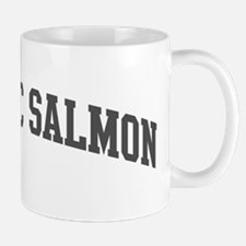 Atlantic Salmon (curve-grey) Mug