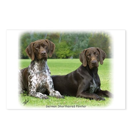 German Shorthaired Pointer 9J37D-09 Postcards (Pac