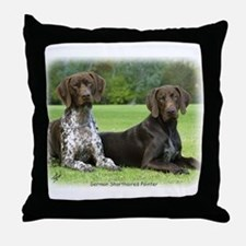 German Shorthaired Pointer 9J37D-09 Throw Pillow