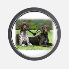 German Shorthaired Pointer 9J37D-09 Wall Clock
