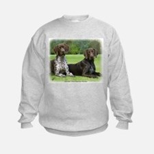 German Shorthaired Pointer 9J37D-09 Sweatshirt
