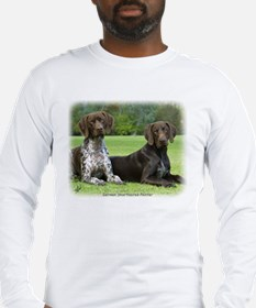 German Shorthaired Pointer 9J37D-09 Long Sleeve T-