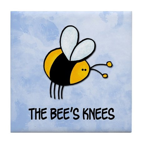 The Bee's knees Art Tile