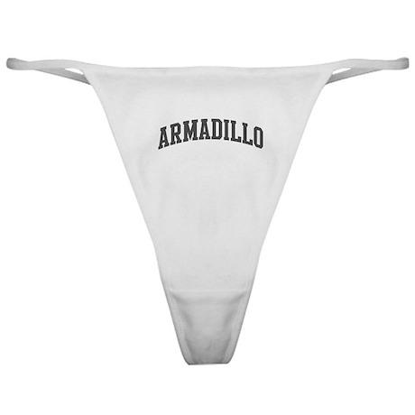 Armadillo (curve-grey) Classic Thong