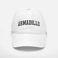 Armadillo (curve-grey) Baseball Baseball Cap