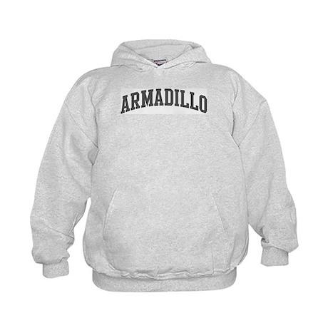 Armadillo (curve-grey) Kids Hoodie