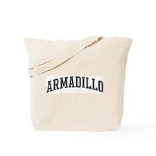 Armadillo (curve-grey) Tote Bag