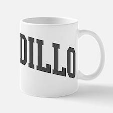 Armadillo (curve-grey) Mug