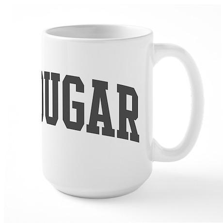 Cougar (curve-grey) Large Mug