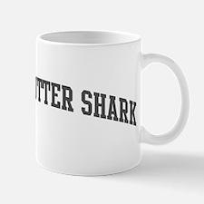 Cookie-Cutter Shark (curve-gr Mug