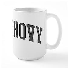 Anchovy (curve-grey) Mug