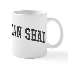 American Shad (curve-grey) Mug