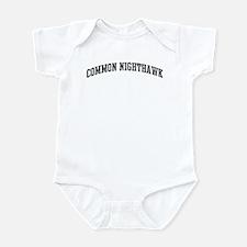 Common Nighthawk (curve-grey) Infant Bodysuit