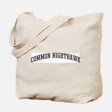 Common Nighthawk (curve-grey) Tote Bag