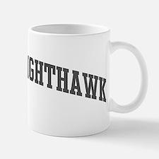 Common Nighthawk (curve-grey) Mug