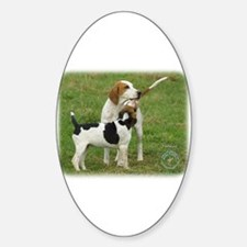 Foxhound 9B100D-08 Sticker (Oval)