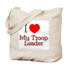 I Heart My Leader Tote Bag