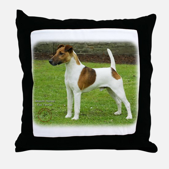 Fox Terrier 9T072D-126 Throw Pillow