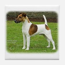 Fox Terrier 9T072D-126 Tile Coaster