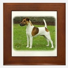 Fox Terrier 9T072D-126 Framed Tile