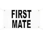First Mate Banner