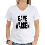 Game Warden Women's V-Neck T-Shirt