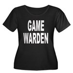 Game Warden Women's Plus Size Scoop Neck Dark T-Sh