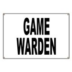 Game Warden Banner