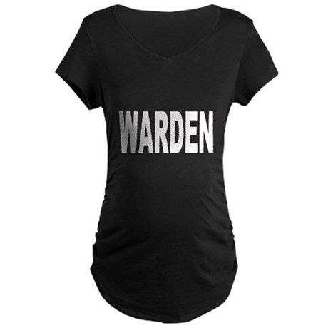 Warden Maternity Dark T-Shirt