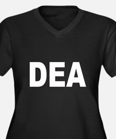 DEA Drug Enforcement Adminstr Women's Plus Size V-