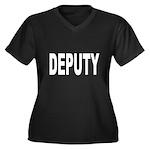 Deputy Law Enforcement Women's Plus Size V-Neck Da