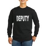 Deputy Law Enforcement Long Sleeve Dark T-Shirt