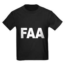 FAA Federal Aviation Administ T