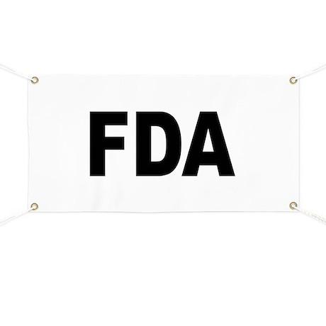 FDA Food and Drug Administrat Banner