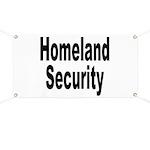 Homeland Security Banner