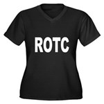ROTC Reserve Officers Trainin Women's Plus Size V-