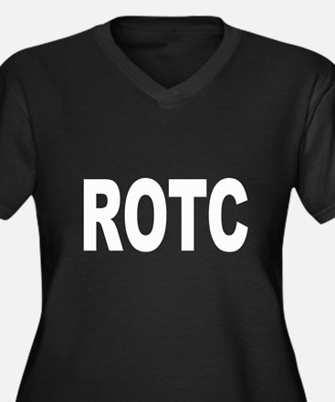 ROTC Reserve Officers Trainin Women's Plus Size V-