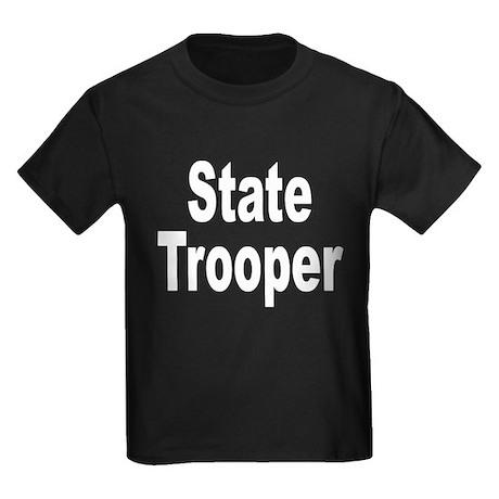 State Trooper Kids Dark T-Shirt