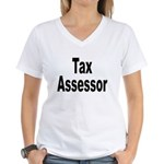 Tax Assessor Women's V-Neck T-Shirt