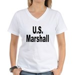 U.S. Marshall Women's V-Neck T-Shirt
