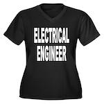 Electrical Engineer Women's Plus Size V-Neck Dark