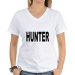 Hunter Women's V-Neck T-Shirt