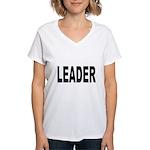 Leader Women's V-Neck T-Shirt