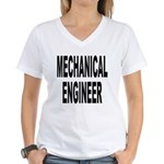 Mechanical Engineer Women's V-Neck T-Shirt