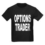 Options Trader Kids Dark T-Shirt